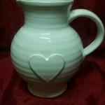 keramika bílá